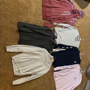 7 men's winter shirts